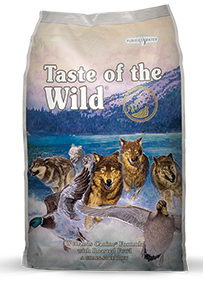 Comercial VYA - Taste of the Wild - Wetlands Canine Formula